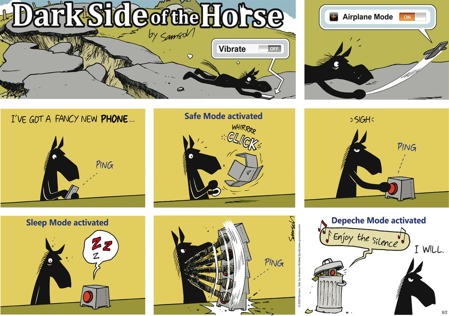 Dark Side of the Horse Comic Strip for August 02, 2020