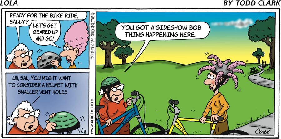 Lola Comic Strip for April 18, 2010