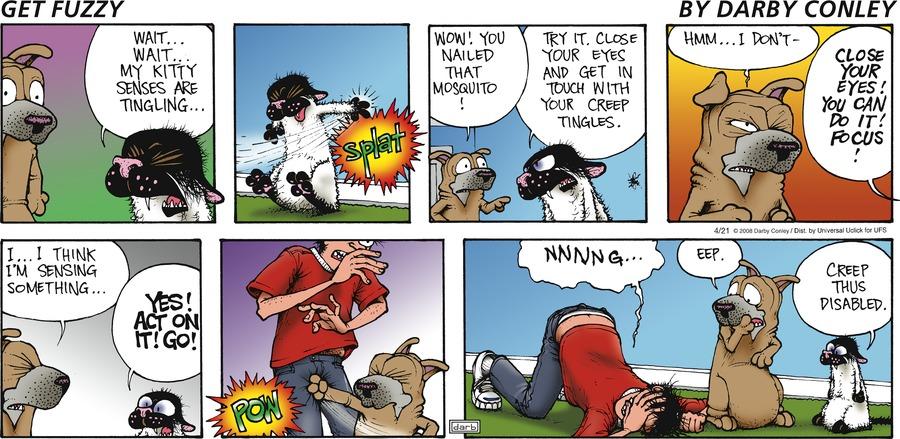 Get Fuzzy Comic Strip for April 21, 2013