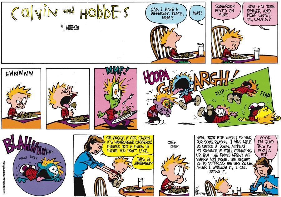 Calvin and Hobbes Comic Strip for September 04, 1988