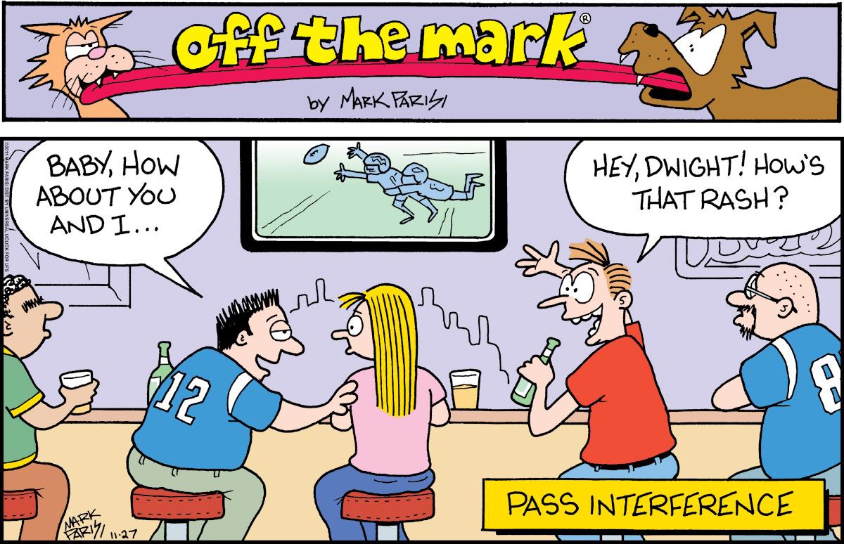 Off the Mark for Nov 27, 2011 Comic Strip
