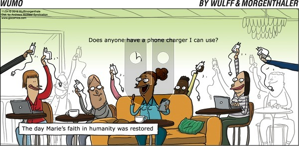 WuMo on Sunday November 24, 2019 Comic Strip