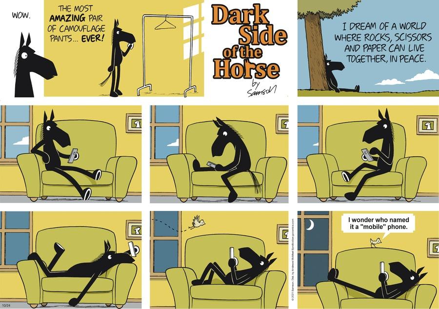 Dark Side of the Horse by Samson on Sun, 24 Oct 2021