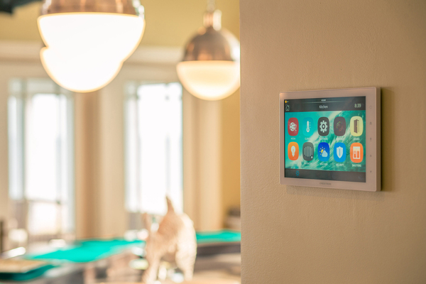 "Casaplex, based in Kensington, Maryland, installed a security system including sensors, cameras, driveway alerts and connected locks in this beach home. Designed with whole-home automation, owners can ""open and close"" the home for vacation using a mobile device. The home has a battery backup to keep key systems running, even when owners are away."