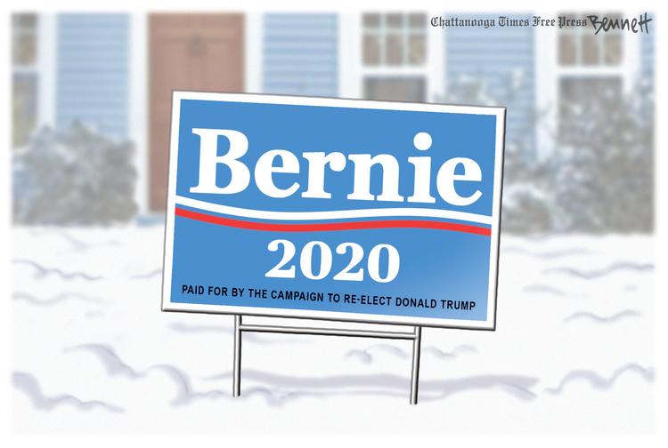 Clay Bennett Comic Strip for February 11, 2020