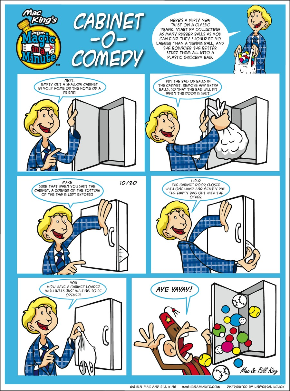 Magic in a Minute for Oct 20, 2013 Comic Strip