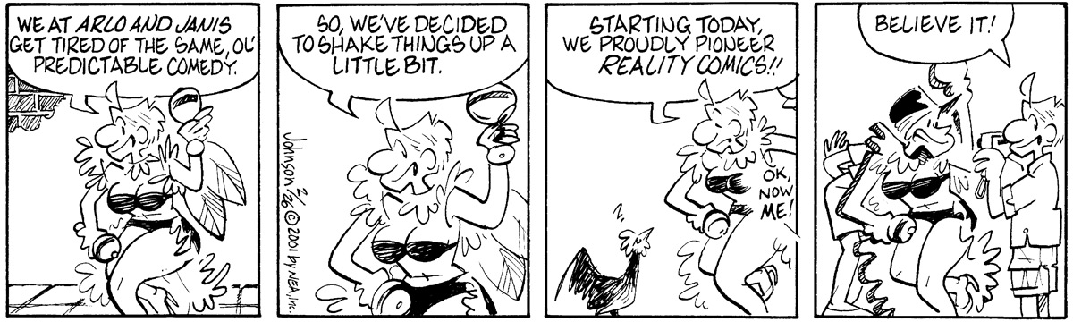 Arlo and Janis Comic Strip for February 26, 2001