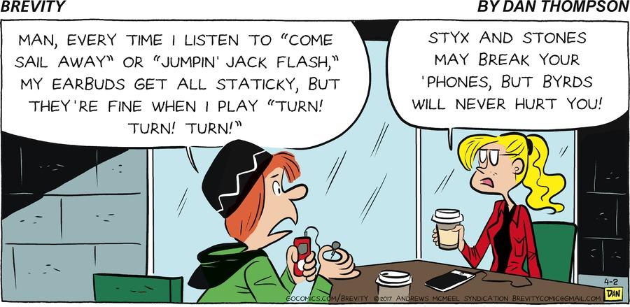 Brevity Comic Strip for April 02, 2017