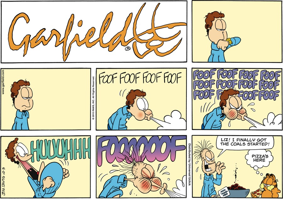 Garfield Comic Strip for October 03, 2010