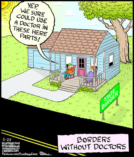 Free Range by Bill Whitehead for May 22, 2019