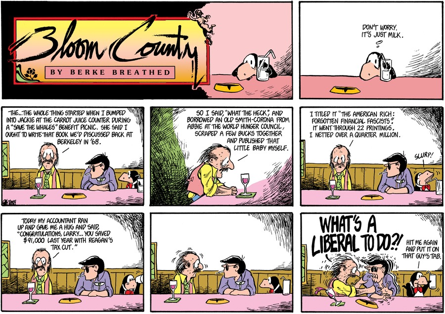 Bloom County Comic Strip for January 21, 2019