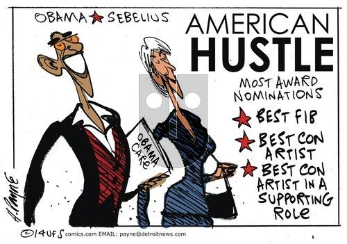 Henry Payne on Sunday January 19, 2014 Comic Strip