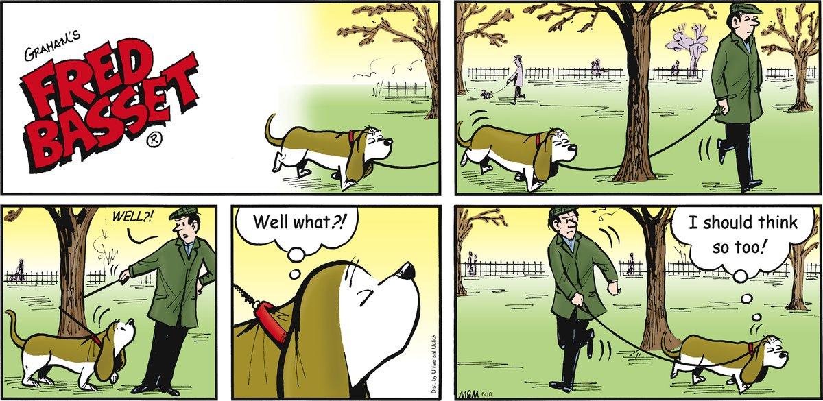 Fred Basset Comic Strip for June 10, 2012