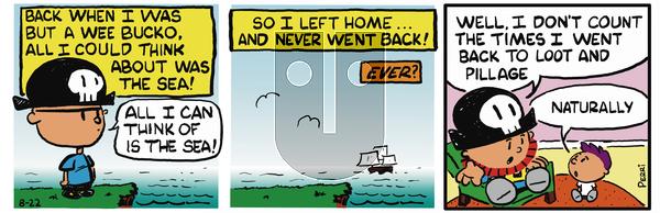 Pirate Mike on November 29, 2018 Comic Strip