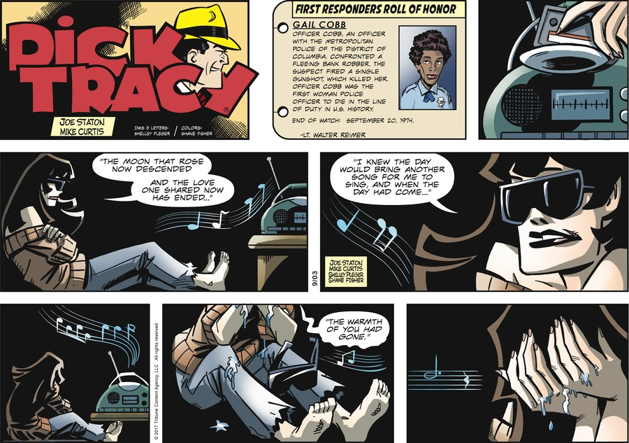 Dick Tracy Comic Strip for September 03, 2017