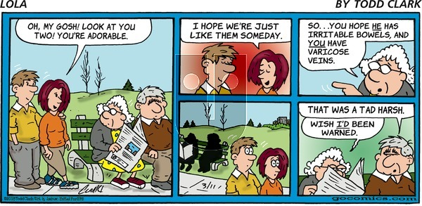 Lola on Sunday March 11, 2018 Comic Strip