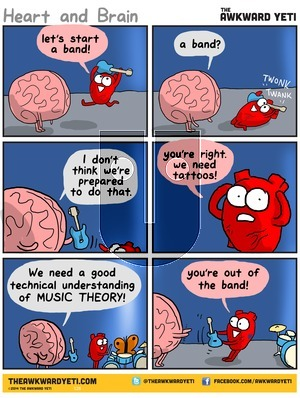 The Awkward Yeti on Sunday April 12, 2015 Comic Strip