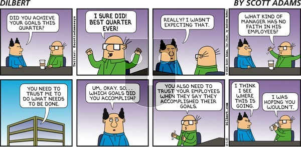 Dilbert on Sunday August 5, 2018 Comic Strip