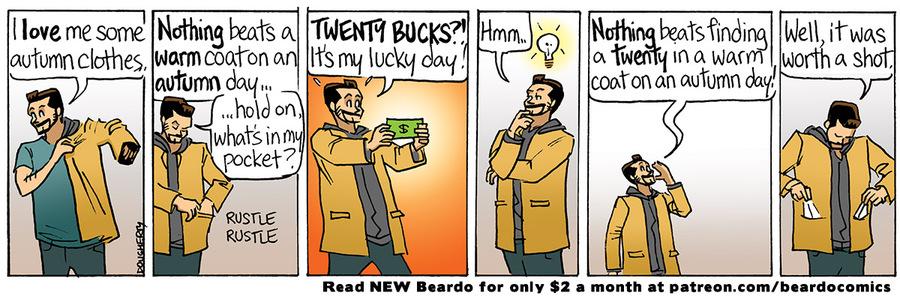 Beardo Comic Strip for April 07, 2021