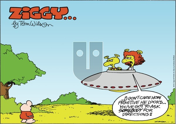 Ziggy on Sunday May 3, 2020 Comic Strip