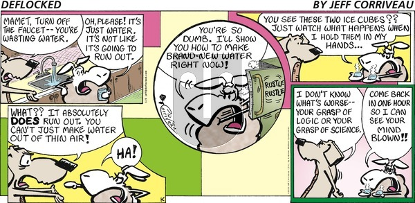 DeFlocked on Sunday January 5, 2020 Comic Strip
