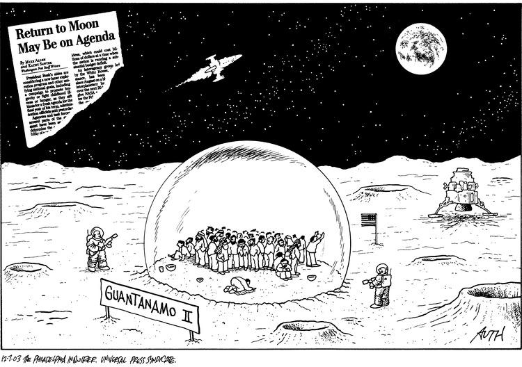 Return to moon may be on agenda  Guantanamo II