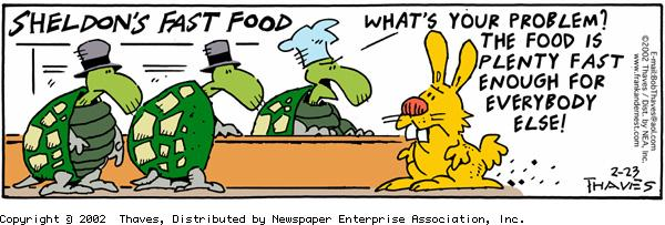 Frank and Ernest for Feb 23, 2002 Comic Strip