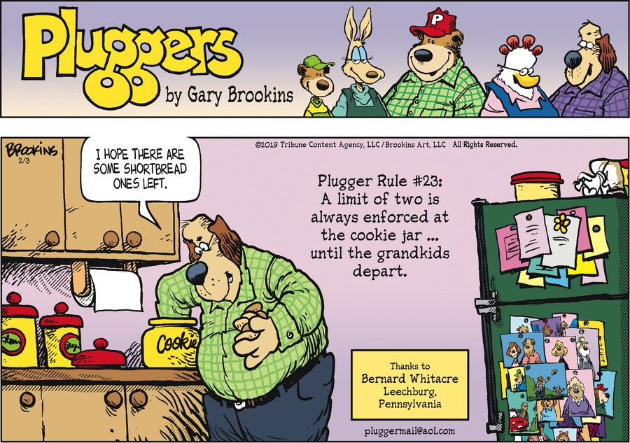 Pluggers Comic Strip for February 03, 2019
