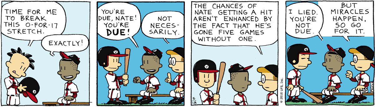 Big Nate Comic Strip for May 18, 2010