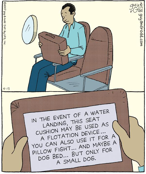 Brevity for Apr 13, 2007 Comic Strip