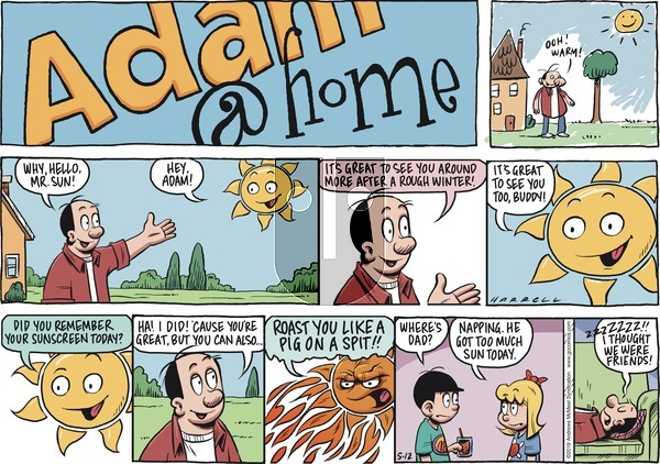 Adam@Home on Sunday May 12, 2019 Comic Strip