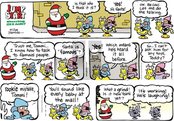 JumpStart on Sunday December 8, 2019 Comic Strip