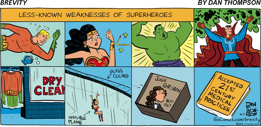 less - known weakness of Superheros