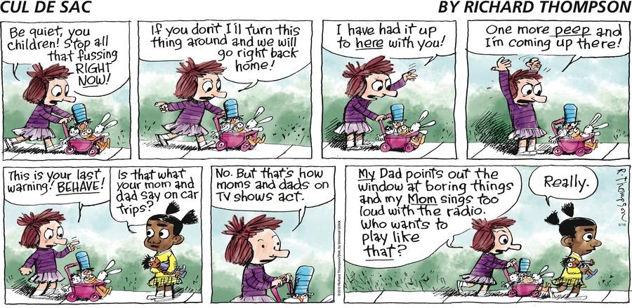 Cul de Sac Comic Strip for May 16, 2010