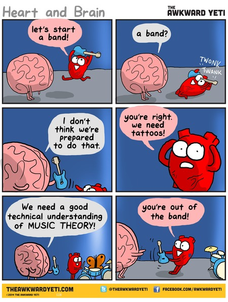 The Awkward Yeti Comic Strip for April 12, 2015