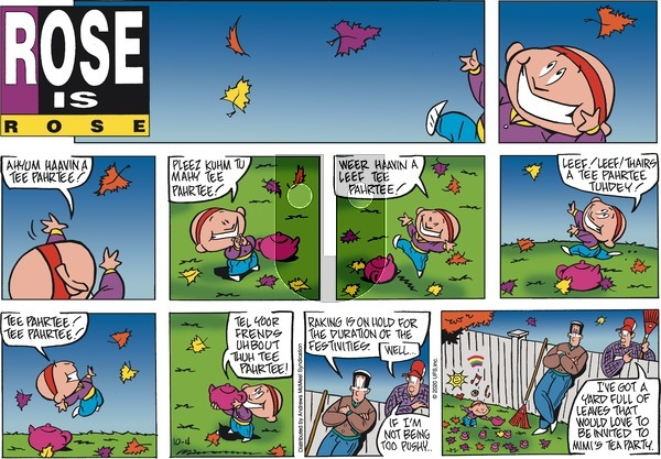 Rose is Rose - Sunday October 4, 2020 Comic Strip