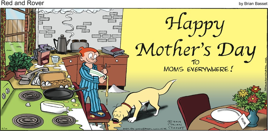 Red and Rover Comic Strip for May 10, 2015