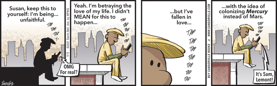 Candorville Comic Strip for May 13, 2021