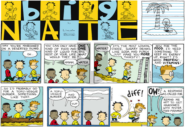 Big Nate on Sunday March 6, 2005 Comic Strip