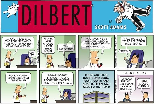 Dilbert - Sunday September 13, 2009 Comic Strip