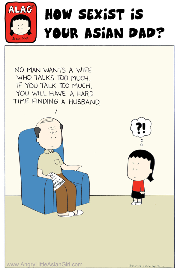 No man wants a wife who talks too much. If you talk too much, you will have a hard time finding a husband.
