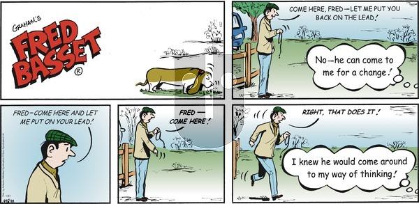 Fred Basset on Sunday January 31, 2021 Comic Strip