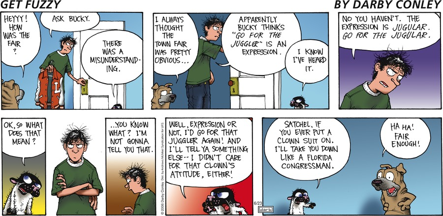 Get Fuzzy Comic Strip for June 23, 2019