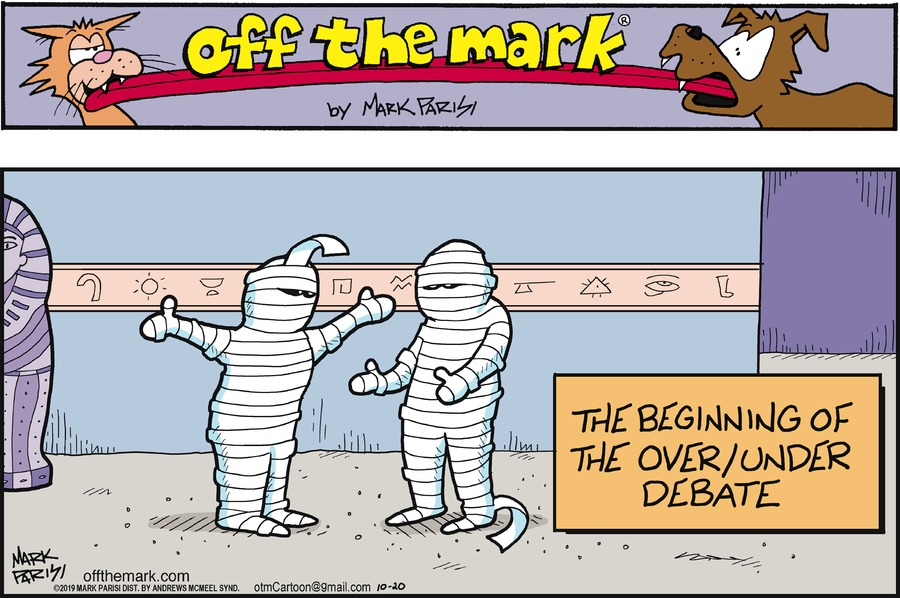 Off the Mark Comic Strip for October 20, 2019