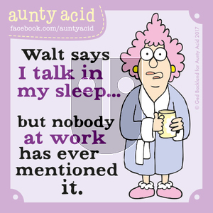 Aunty Acid on Thursday October 26, 2017 Comic Strip