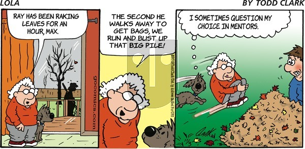 Lola on Sunday November 3, 2019 Comic Strip