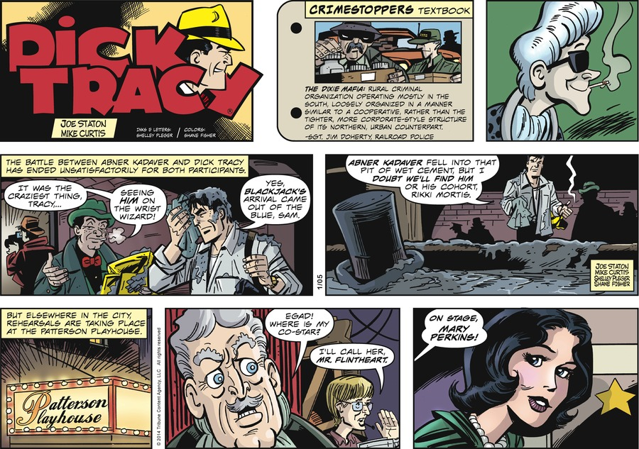 Dick Tracy Comic Strip for January 05, 2014