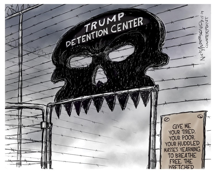 Nick Anderson by Nick Anderson for August 16, 2019