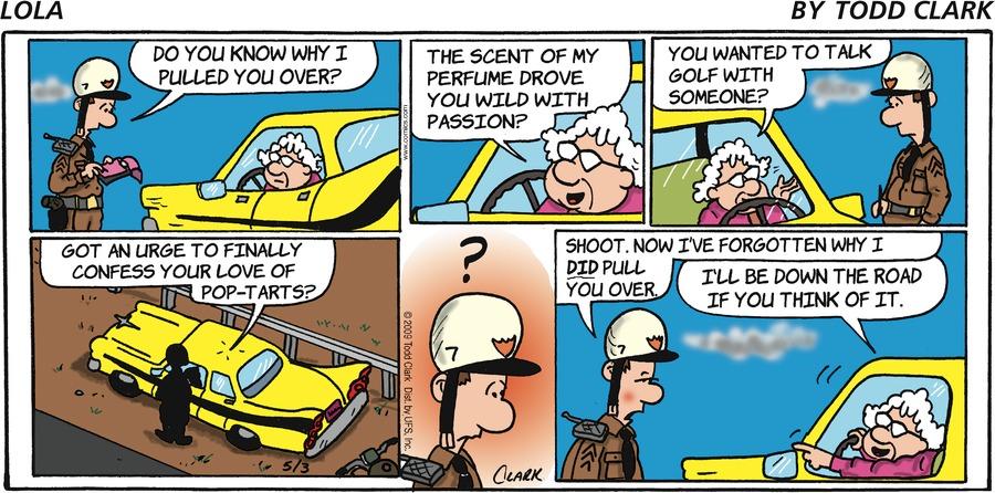Lola for May 3, 2009 Comic Strip
