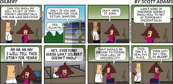 Dilbert - Sunday February 9, 2014 Comic Strip